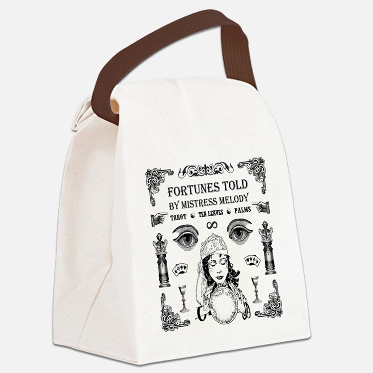MISTRESS MELODY Canvas Lunch Bag