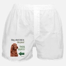 Who's Irish In This Place? Boxer Shorts