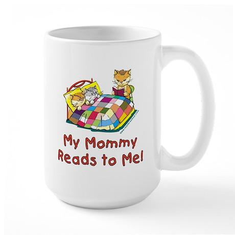 Mommy Reads Large Mug