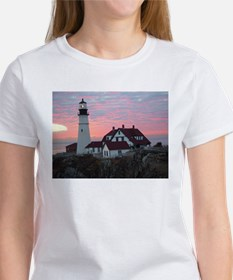 Portland Headlight Sunrise Women's T-Shirt