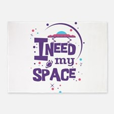 Space Introvert 5'x7'Area Rug