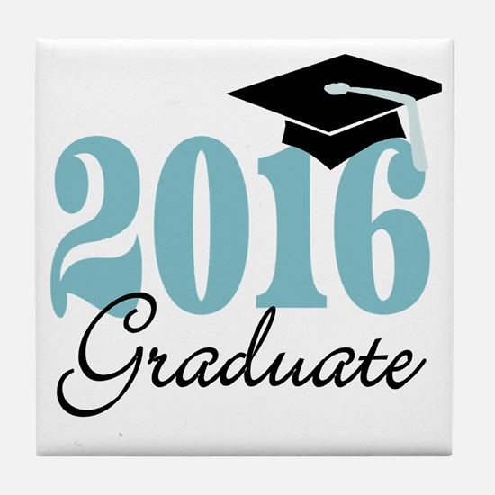 Cool Seniors class 2016 Tile Coaster