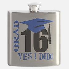 Cute Senior 2015 Flask