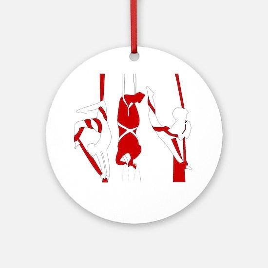 Aerial Silks Ornament (Round)