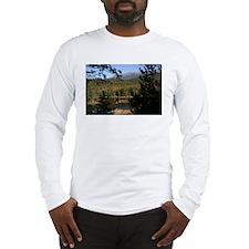 Mt Katadin Maine Long Sleeve T-Shirt