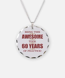 Cute 60th birthday for men Necklace