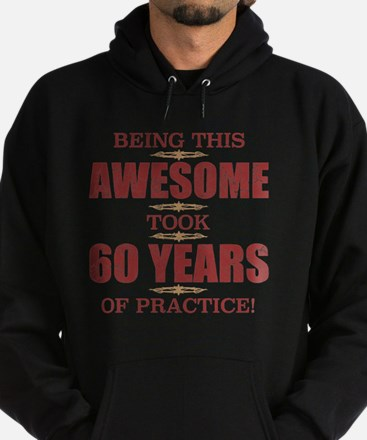 Cute Turning 60 Hoodie (dark)