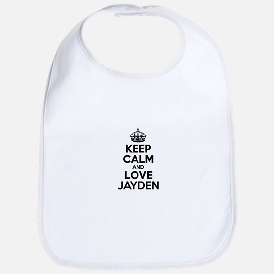 Keep Calm and Love JAYDEN Bib