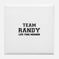 Team RANDY, life time member Tile Coaster
