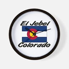 El Jebel Colorado Wall Clock