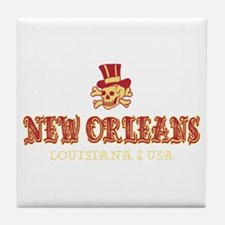 New Orleans Pirate - Tile Coaster