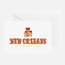 New Orleans Pirate - Greeting Card