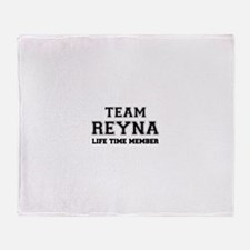 Team REYNA, life time member Throw Blanket