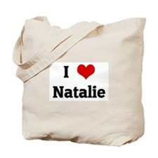 I Love Natalie Tote Bag