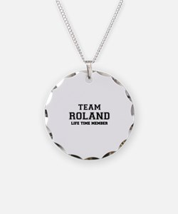 Team ROLAND, life time membe Necklace