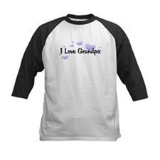 Love Grandpa Purple Tee