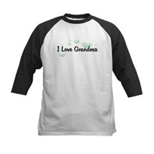 Love Grandma Green Hearts Tee