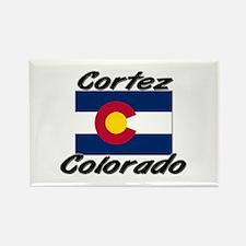 Cortez Colorado Rectangle Magnet
