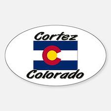 Cortez Colorado Oval Decal