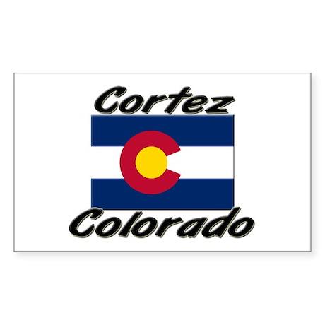 Cortez Colorado Rectangle Sticker