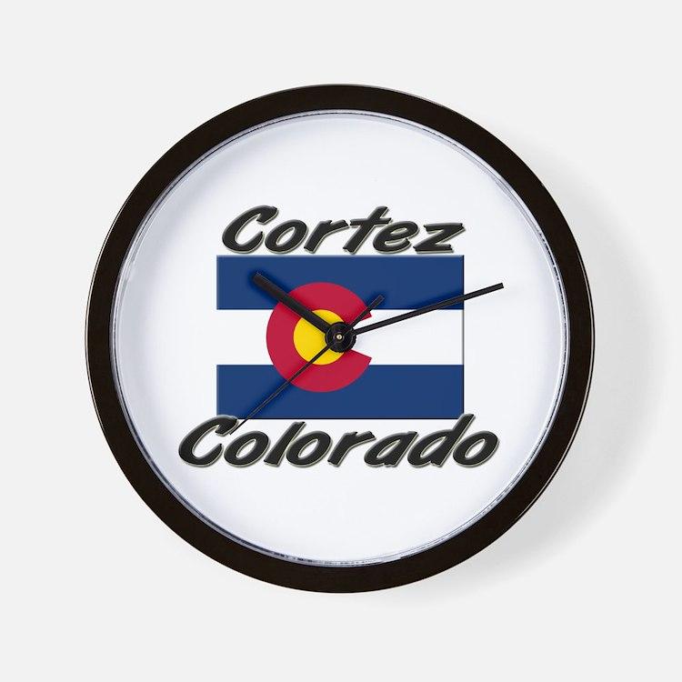 Cortez Colorado Wall Clock