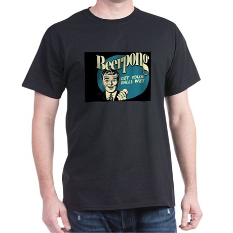 Beer Pong Dark T-Shirt