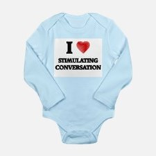 I love Stimulating Conversation Body Suit