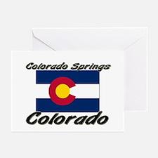 Colorado Springs Colorado Greeting Cards (Pk of 10