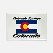 Colorado Springs Colorado Rectangle Magnet