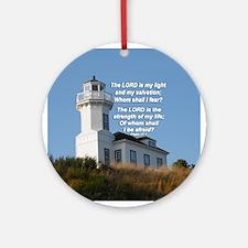 Lighthouse Inspirational Ornament