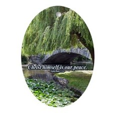 """""""Our Peace"""" Inspirational Ornament"""