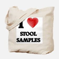I love Stool Samples Tote Bag