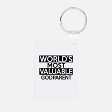 World's Most Valuable Godp Aluminum Photo Keychain
