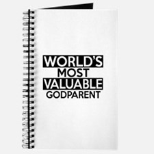 World's Most Valuable Godparent Journal