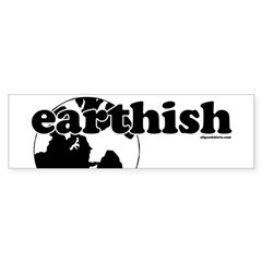 Earthish Bumper Bumper Sticker