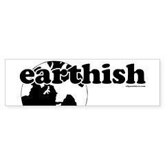 Earthish Bumper Bumper Sticker