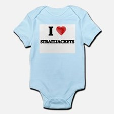 I love Straitjackets Body Suit