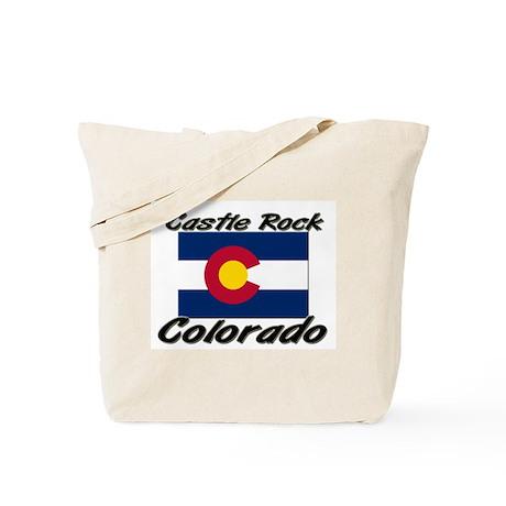 Castle Rock Colorado Tote Bag