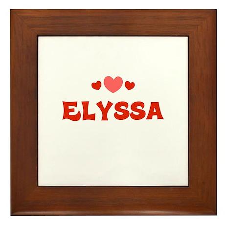 Elyssa Framed Tile