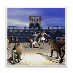 The Coliseum Tile Coaster