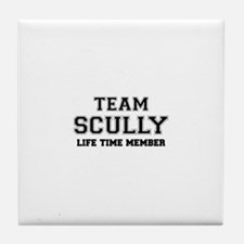Team SCULLY, life time member Tile Coaster