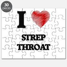 I love Strep Throat Puzzle