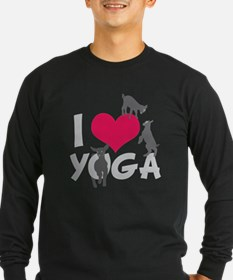 I Heart Goat Yoga | GetYerGoat™ Long Sleeve T-Shir
