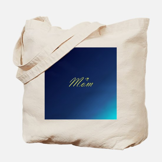 golden text mom Tote Bag