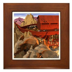 Out from the Ark Framed Tile
