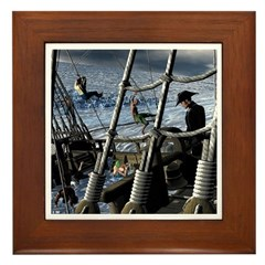 Sailor's Dilemma Framed Tile