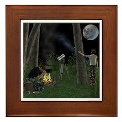 Starry Night Framed Tile