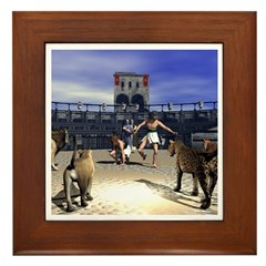 The Coliseum Framed Tile