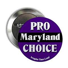 Maryland Pro-Choice Button