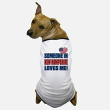 Someone In New Hampshire Loves Me Dog T-Shirt